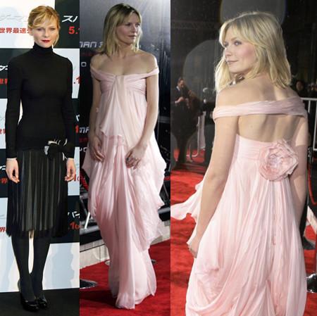 Kirsten Dunst: estilosa promoción por el mundo