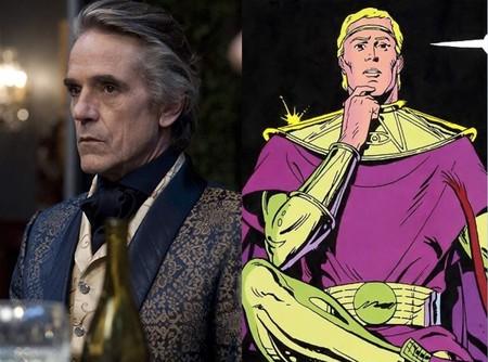 Jeremy Irons será un veterano Ozymandias en la serie de 'Watchmen'