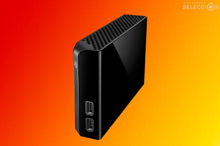 Ofertaza en Amazon del disco duro Seagate Backup Plus de 8 TB con dos puertos USB 3.0 por 99 euros, su precio mínimo histórico