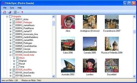 Usando Flickr como Backup adicional