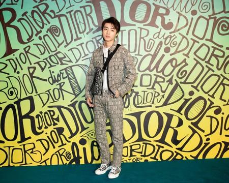 Wang Junkai Dior Fall 2020 3 12 19