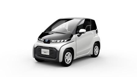 Ultra-compact BEV, un diminuto coche eléctrico urbano que Toyota busca lanzar en 2020 como parte de su nueva oferta de movilidad