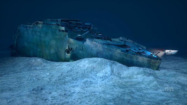 Ya Es Posible Visitar Los Restos Del Titanic Por 100 000 Euros