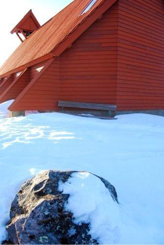 Templos de formas curiosas: la Nikkaluokta Kapell de Suecia
