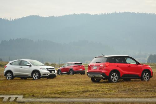 Comparativa: Mazda CX-3 vs Suzuki Vitara vs Honda HR-V (II)