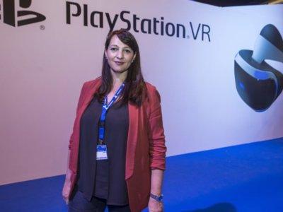 """""""PlayStation VR va a ser uno de los saltos más interesantes que haya habido en la evolución del videojuego"""". Entrevista a Cristina Infante de PlayStation"""