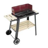Por sólo 31,09 euros podemos hacernos con esta  barbacoa con ruedas Grill Chef 0566 en Amazon