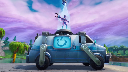 Esta semana llega la posibilidad de revivir compañeros en Fortnite con las nuevas furgonetas de reaparición