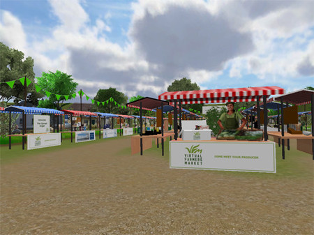 Virtual farmers market, el primer mercado virtual 3D