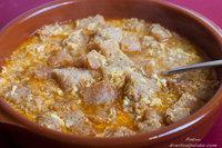 Sopa castellana. Receta