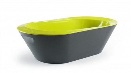 Moderna bañera Bato+ de Hoppop