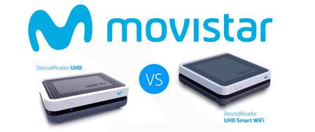 Descodificador UHD vs. Descodificador UHD Smart WiFi de Movistar: diferencias y precios