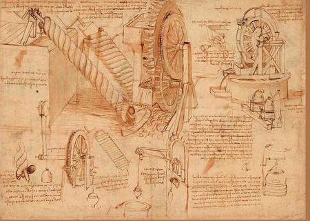 Atlantic Codex Codex Atlanticus F 26 Verso Leonardo Da Vinci