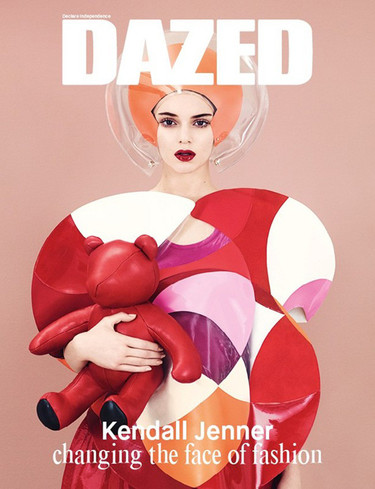 Tranquilo que no ves triple, es Kendall Jenner en la portada de Dazed