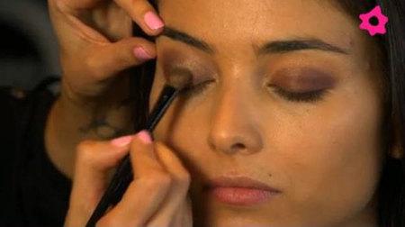 Maquillaje punto de luz en parpados