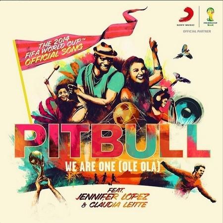 Así es como suena ya el Mundial de Brasil, cortesía de Jennifer Lopez y Pitbull