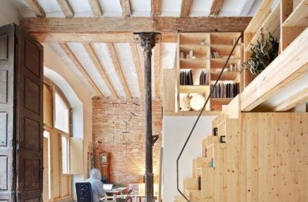 Estilo Rustico Moderno Clean Rustic Loft Escalera960x600
