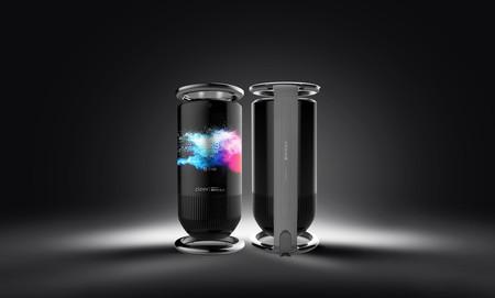 El Royole Mirage es un altavoz inteligente recubierto con una pantalla plegable de ocho pulgadas