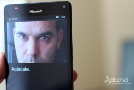 Lumia 950 XL: escáner de iris