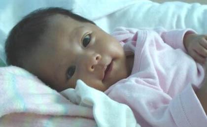 La foto de tu bebé: mirada serena