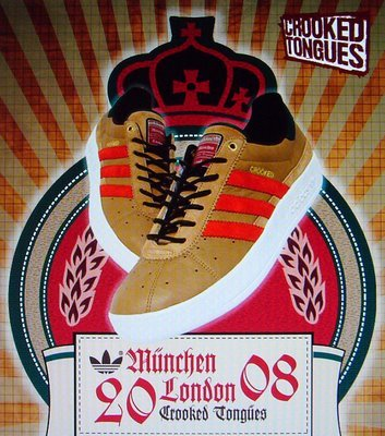 Zapatillas Adidas/Crooked Tongues Oktoberfest München