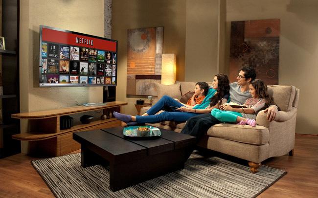 Netflix en el salón