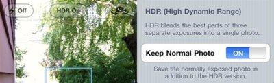 ¿Qué es el HDR y cómo funciona en iOS 4.1?