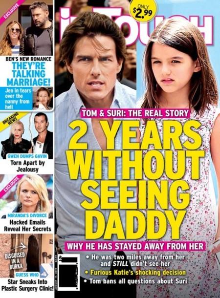 El drama de Tom Cruise y su nena