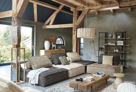 Te presentamos la gama de sofás Maisons du Monde con algunas de sus curiosidades como los sofás conectados