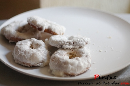 Rosquillas de Santa Clara de San Isidro. Receta
