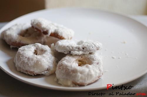 Baño Blanco Rosquillas:Rosquillas de Santa Clara de San Isidro Receta
