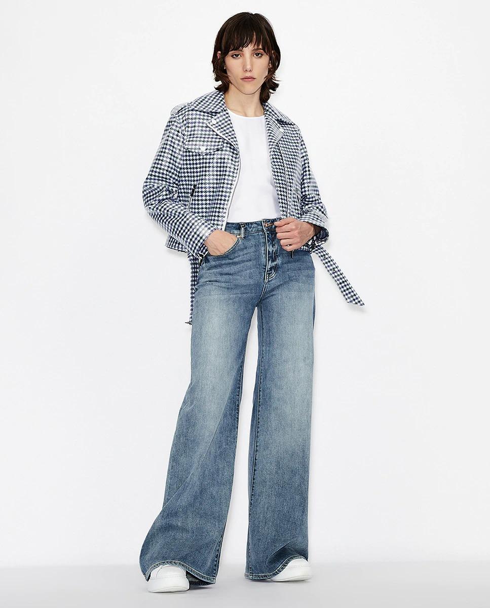 Vaquero de mujer 90s wide leg extra largo de Armani Exchange