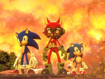 El Sonic Team pone toda la carne en el asador en el tráiler de lanzamiento de Sonic Forces