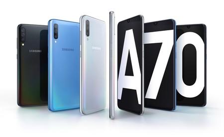 """Samsung Galaxy A70: la familia de gama media-alta con triple cámara sigue creciendo, ahora con gran pantalla panorámica de 6.7"""""""
