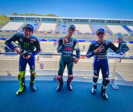 Rossi Quartararo Vinales Jerez Motogp 2020