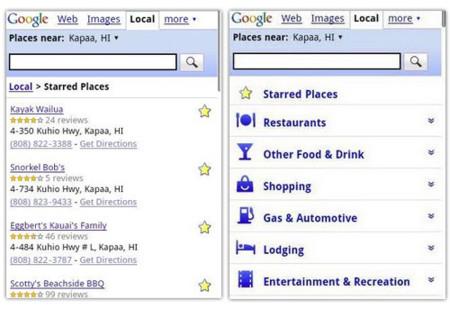 Google mejora las búsquedas locales con el móvil