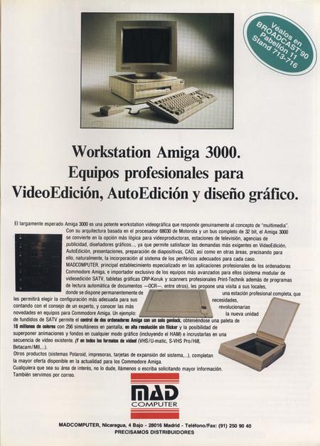 1990 Commodore Amiga 3000 Mad Computer Mayo 1990