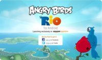 Angry Birds Rio en la Amazon App Store, en exclusiva