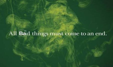 El poster anunciando el final de 'Breaking Bad', la imagen de la semana