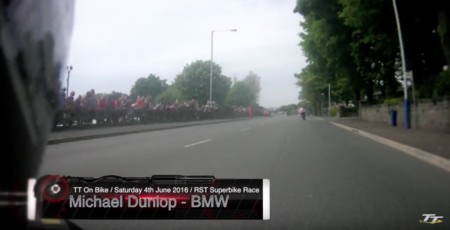 La impresionante vuelta récord de Michael Dunlop en el TT de la Isla de Man