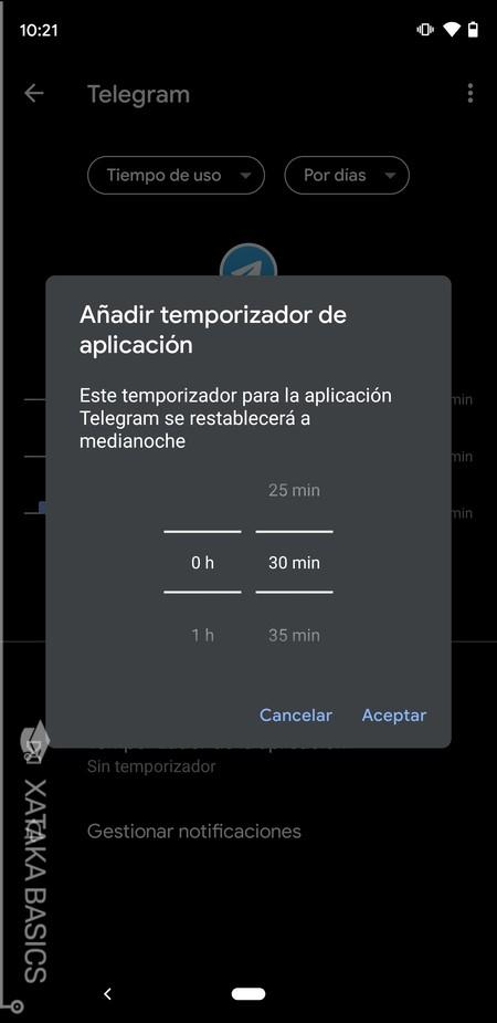 Limitar Uso App