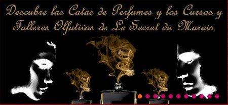 Dos nuevos cursos de perfumes en Le Secret du Marais, Madrid