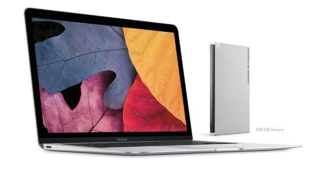 Lacie Porsche Design con USB tipo C, la unidad de almacenamiento perfecta para el nuevo MacBook
