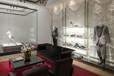 Interior boutique Alexander McQueen