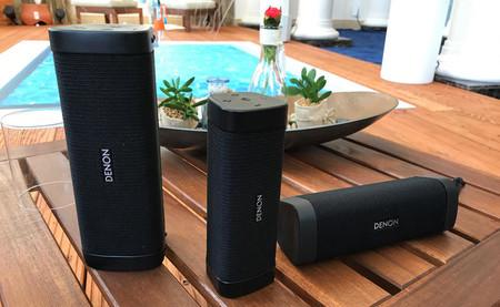 Los nuevos altavoces Bluetooth Denon Envaya llegan a Europa dispuestos a sonorizar tu jardín