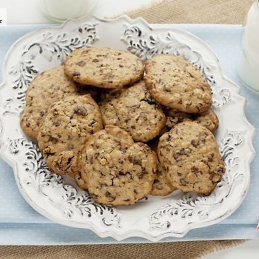 Cómo hacer las galletas de chocolate y avena  de Donna Hay, receta fácil y rápida