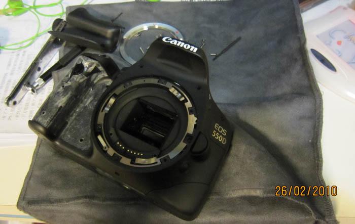 Foto de Transformando la Canon 550D en una cámara sin espejo enfocada a la grabación de vídeo (8/10)