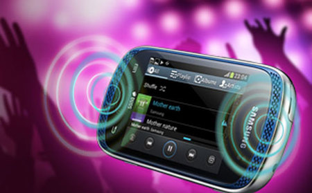Samsung Galaxy Music, primeras imágenes de un nuevo androide para audiófilos