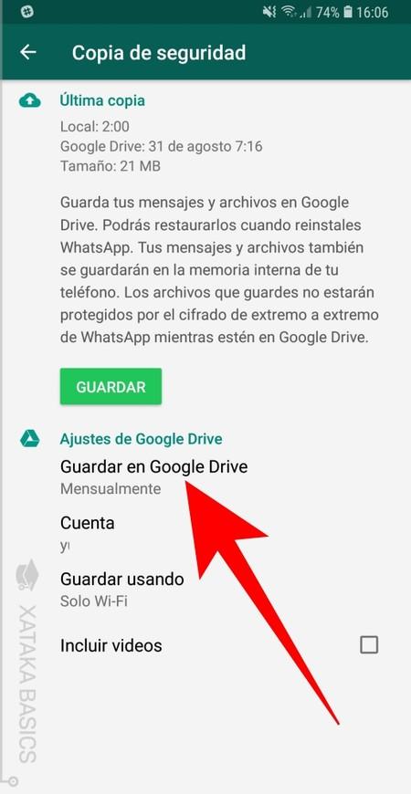 Recuperar mensajes de WhatsApp en iOS