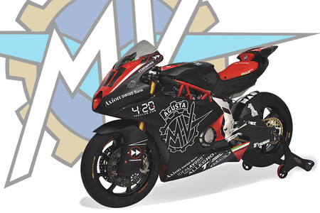 Así es la MV Agusta definitiva que debutará en Moto2 en 2019 con el Forward Racing